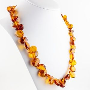 Vintage Reconstituted Amber Necklace